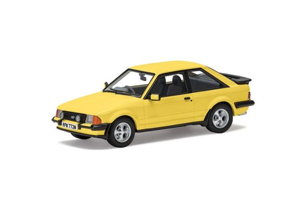 CORGI 1/43scale Ford Escort Mk3 XR3 Prairie Yellow  [No.CGVA11011]