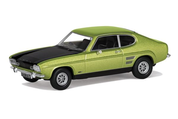 CORGI 1/43scale Ford Capri Mk1 1600GT XLR Fern Green Metallic  [No.CGVA13310]