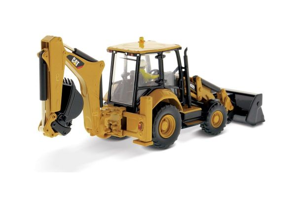DIECAST MASTERS 1/50scale Cat 432F2 Side Shift Backhoe Loader  [No.DM85249H]