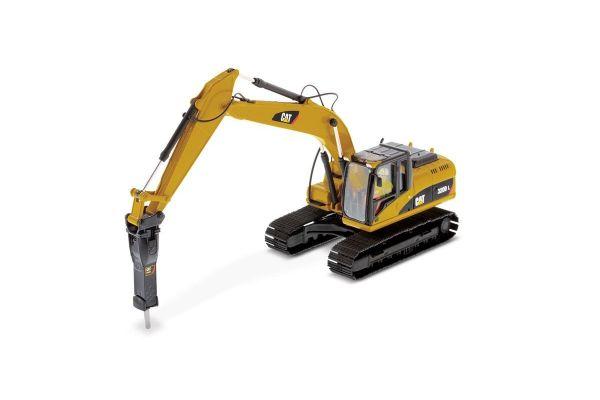 DIECAST MASTERS 1/50scale Cat 320D L hydraulic excavator (hammer)  [No.DM85280C]