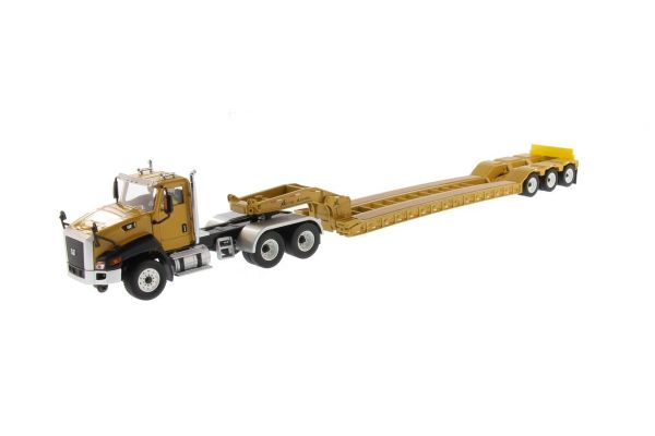 DIECAST MASTERS 1/50scale Cat CT 660 Day Cab tractor & XL 120 low profile HDG trailer  [No.DM85503C]