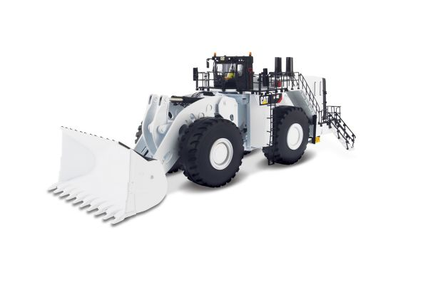 DIECAST MASTERS 1/50scale Cat 994K Wheel Loader Coal Bucket Specification White  [No.DM85533H]