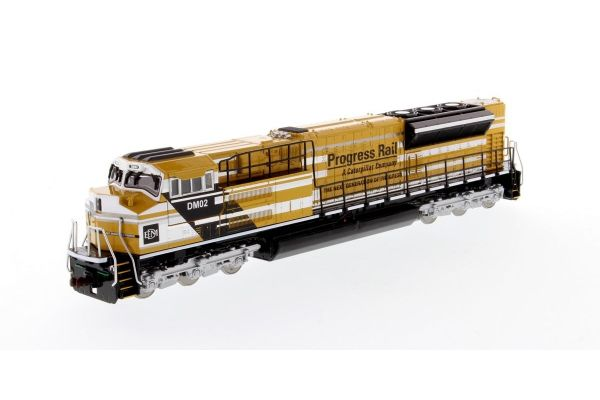 DIECAST MASTERS 1/87scale EMD SD70ACe-T4 Locomotive Yellow / Black  [No.DM85546]