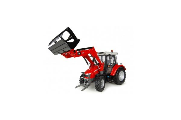 UNIVERSAL HOBBIES 1/32scale Massey Ferguson 5713 SL Front Loader  [No.E4903]