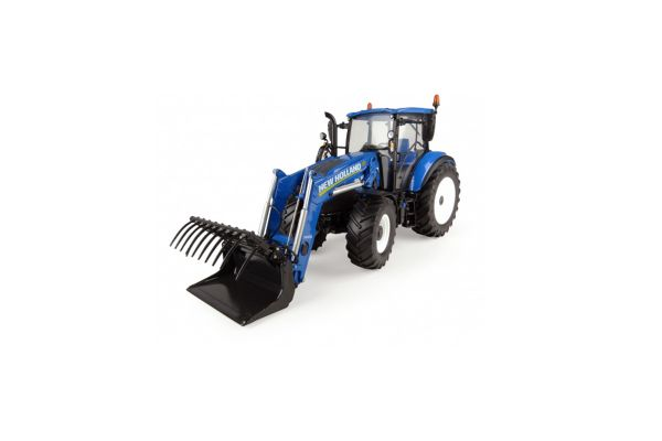 UNIVERSAL HOBBIES 1/32scale New Holland T5.120 740TL loader  [No.E4958]