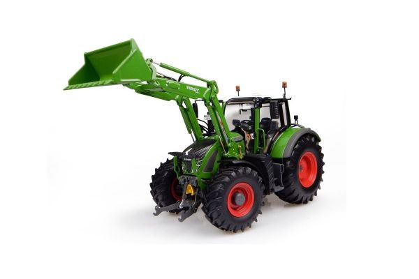 UNIVERSAL HOBBIES 1/32scale Fendt 722 Vario Front loader New natural green  [No.E4975]
