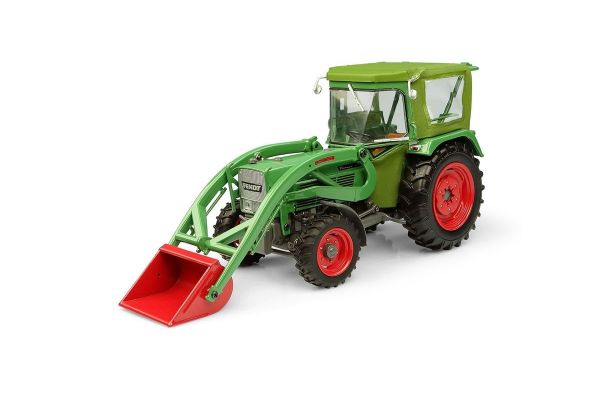 UNIVERSAL HOBBIES 1/32scale Fendt Famer 5S with Peko Cabin & BAAS front loader 4WD  [No.E5310]
