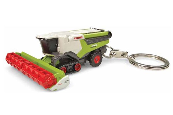 UNIVERSAL HOBBIES scale Claas Lexion 8900 terra Trac key ring  [No.E5860]