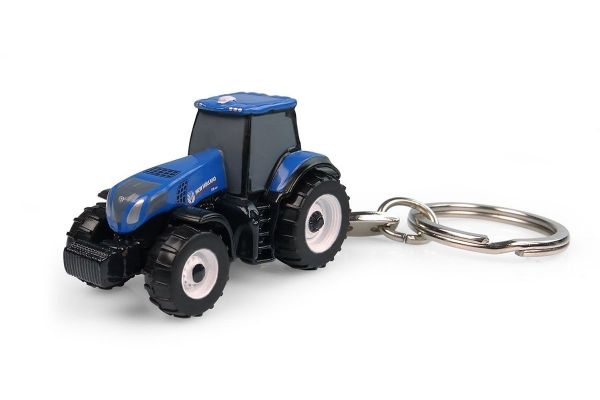 UNIVERSAL HOBBIES scale Keyring New Holland T8.350  [No.E5862]