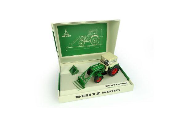 UNIVERSAL HOBBIES 1/32scale Deutz-Fahr D6005 avec chargeur avant et cabine 4WD  [No.E6200]