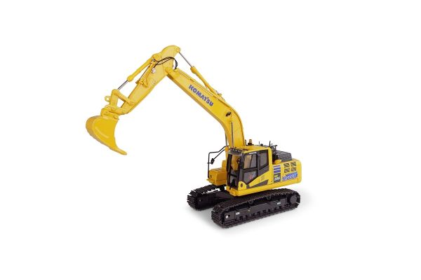 UNIVERSAL HOBBIES 1/50scale Komatsu HB205 LC-3 Hybrid Excavator  [No.E8136]