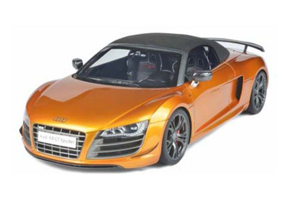 FRONTIART 1/18scale Audi R8 GT Spyder Samoa Orange [No.F036-12]