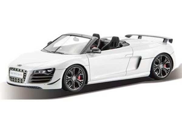 FRONTIART 1/43scale Audi R8 GT Spyder white [No.F039-02]