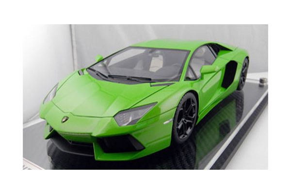 FRONTIART 1/18scale Lamborghini Aventador LP700-4 (Apple Green) Full Funaction Apple Green [No.FA005-15]