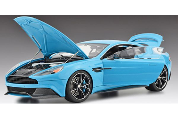 FRONTIART 1/18scale Aston Martin Vanquish Coupe limited 50pcs light blue [No.FA008-33]