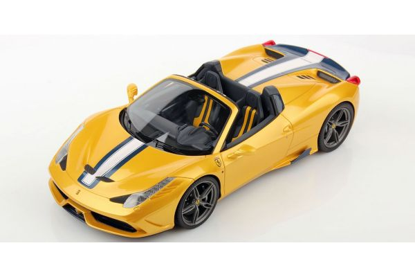 MR Collection 1/18scale フェラーリ 458 スペチアーレ A Yellow [No.FE012A]