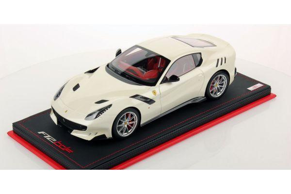 MR Collection 1/18scale Ferrari F12tdf (Bianco Fuji) White  [No.FE018F]