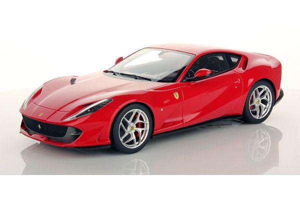 MR Collection 1/18scale Ferrari 812 Superfast ROSSO CORSA (SHINY) Red  [No.FE021C]