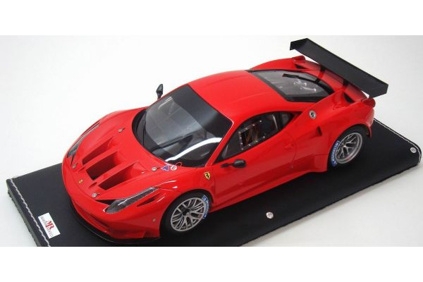 MR Collection 1/18scale Ferrari 458GT2 (Rosso Scuderia) Vermilion Red [No.FE05B]