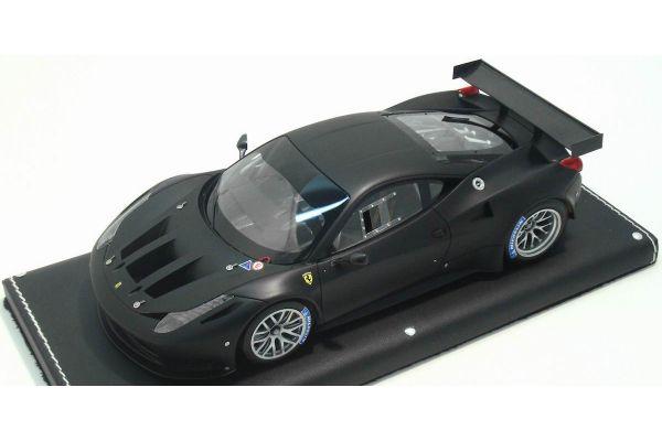 MR Collection 1/18scale FERRARI 458 GT2 Nero Opaco / Black [No.FE05C]