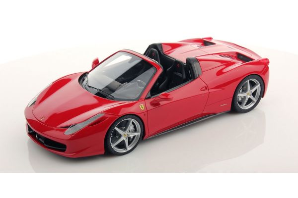 MR Collection 1/18scale Ferrari 458 Spider (Rosso Corsa) Red [No.FE06A]