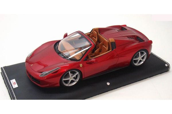 MR Collection 1/18scale FERRARI 458 SPIDER Rosso Maranello/Metallic Red [No.FE06F]