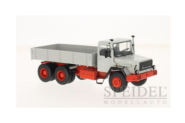 Premium ClassiXXs 1/43scale Magirus 290D track Grey / Red  [No.PCS47022]