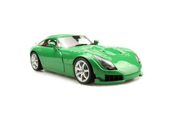 TOPMARQUES 1/18scale TVR SAGARIS 2005 Green  [No.TOPLS008A]