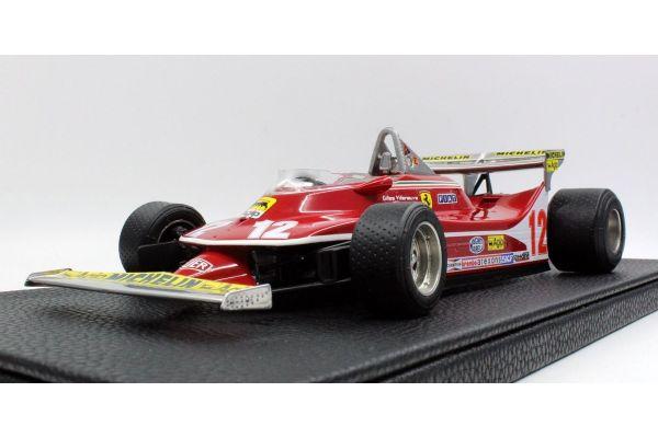 TOPMARQUES 1/18scale Ferrari 312 T4 No.12 1979 Montecarlo Villeneuve  [No.GRP002C]
