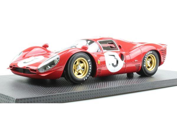 TOPMARQUES 1/18scale 330 P4 No.3 1967 Monza 1000km Winner L.Bandini / C.Amon  [No.GRP006B]