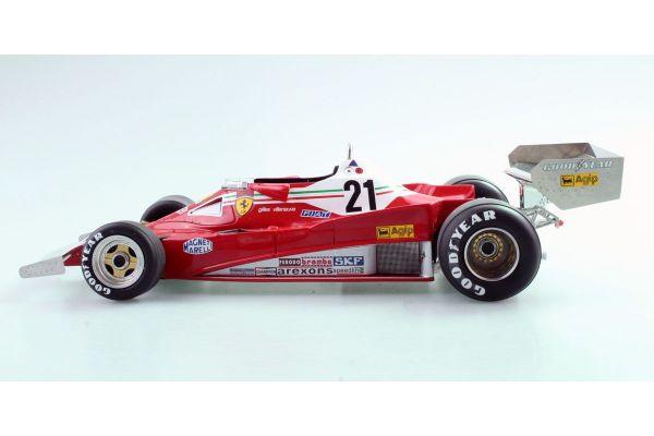 TOPMARQUES 1/18scale Ferrari 312 T2 No.21 1977 Gilles Villeneuve  [No.GRP014C]