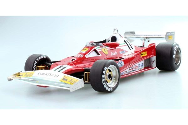 TOPMARQUES 1/18scale Ferrari 312T2 No.11 1977 Niki · Lauda World Champion  [No.GRP014A]