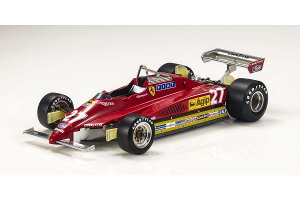 TOPMARQUES 1/18scale Ferrari 126 C2 1982 #27 Gilles Villeneuve  [No.GRP019A]