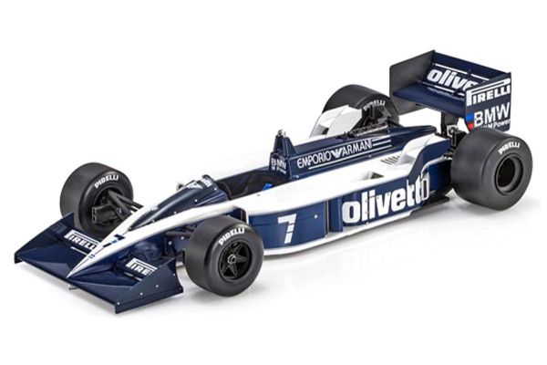 TOPMARQUES 1/18scale Brabham BT55 No.7 R.Patrese  [No.GRP058A]