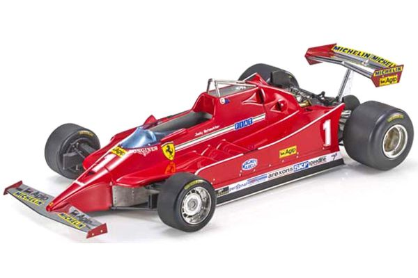 TOPMARQUES 1/18scale 126C No,1 J.Scheckter  [No.GRP097A]
