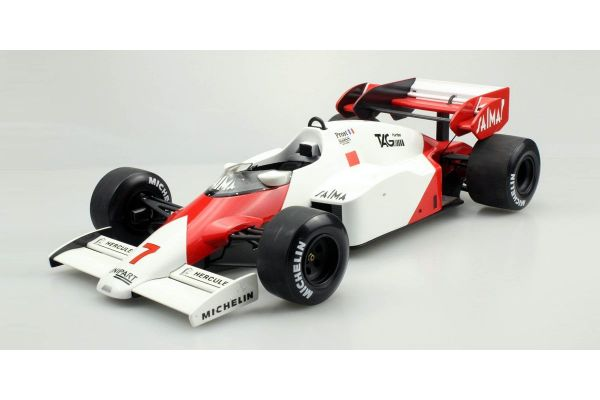 TOPMARQUES 1/12scale mp4/2 1984 - A.Prost 2nd place W.C.   [No.GRP12-05B]