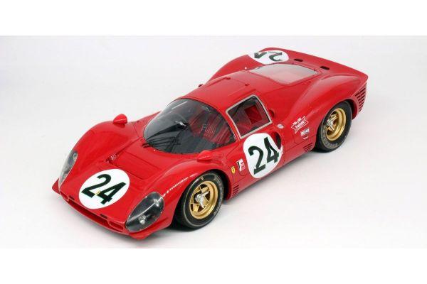 TOPMARQUES 1/12scale Ferrari 330 P4 No.24 24h Daytona1967 2nd place Mike Parkes/Ludovico Scarfiotti  [No.GRP12009B]