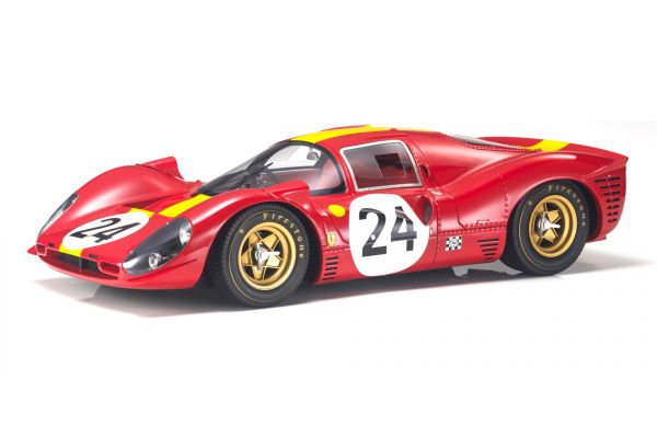 TOPMARQUES 1/12scale 330 P4 No.24 1967 Le Mans 3rd  [No.GRP12009C]