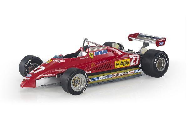 TOPMARQUES 1/12scale Ferrari 126 C2 1982 GP Italy Villeneuve  [No.GRP12010H]