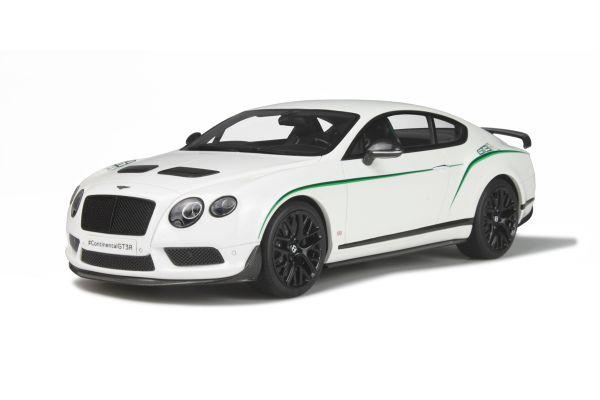 GT SPIRIT 1/18scale Bentley Continental GT3-R Glacier White  [No.GTS121]