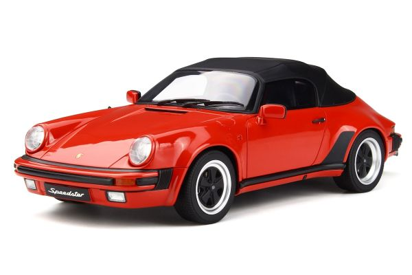 GT SPIRIT 1/18scale Porsche 911 3.2 Speed star (red) [No.GTS130]