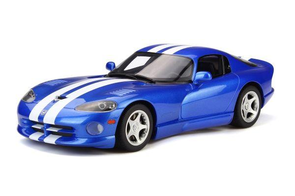 GT SPIRIT 1/18scale Dodge Viper GTS (Blue / White Line)  [No.GTS136]