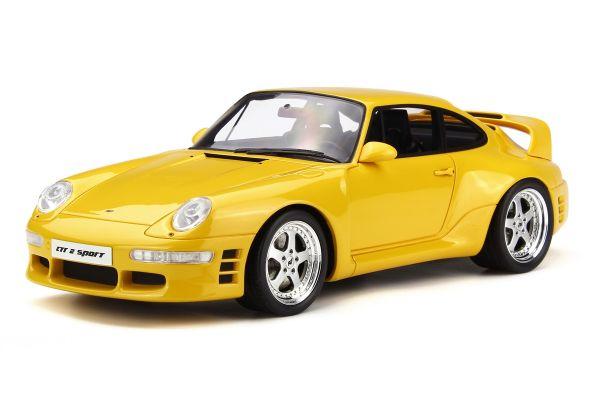 GT SPIRIT 1/18scale Ruf CTR2 Sport Yellow  [No.GTS141]