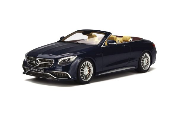 GT SPIRIT 1/18scale Mercedes AMG S65 Convertible Blue [No.GTS153]