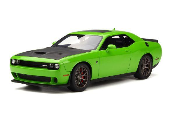 GT SPIRIT 1/18scale Dodge Challenger Hellcat SRT (Green) [No.GTS168]