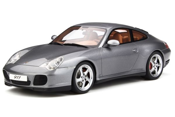 GT SPIRIT 1/18scale Porsche 911 (996) Carrera 4 S (gray metallic)  [No.GTS182]