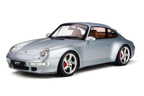GT SPIRIT 1/12scale Porsche 911 Carrera 4S (Silver)  [No.GTS190]