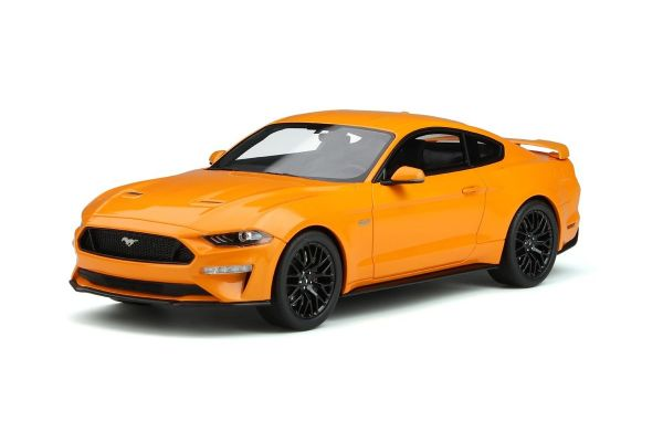 GT SPIRIT 1/18scale 2019 Ford Mustang GT (Orange)  [No.GTS205]