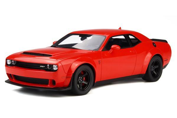 GT SPIRIT 1/18scale Dodge Challenger Demon (Red)  [No.GTS213]
