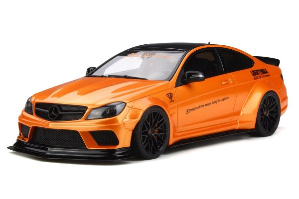 GT SPIRIT 1/18scale LB ☆ Works C 63 (Orange) [No.GTS215]